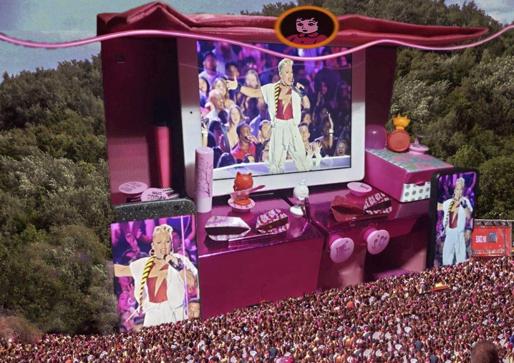Pinkpop Mainstage - Eén pipo en drie rowans