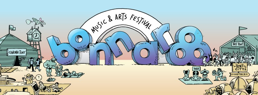 Bonnaroo Festival Artwork General