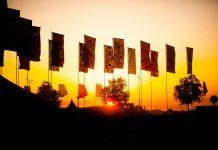 Pukkelpop vlaggen