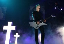 Metallica Live James 2012