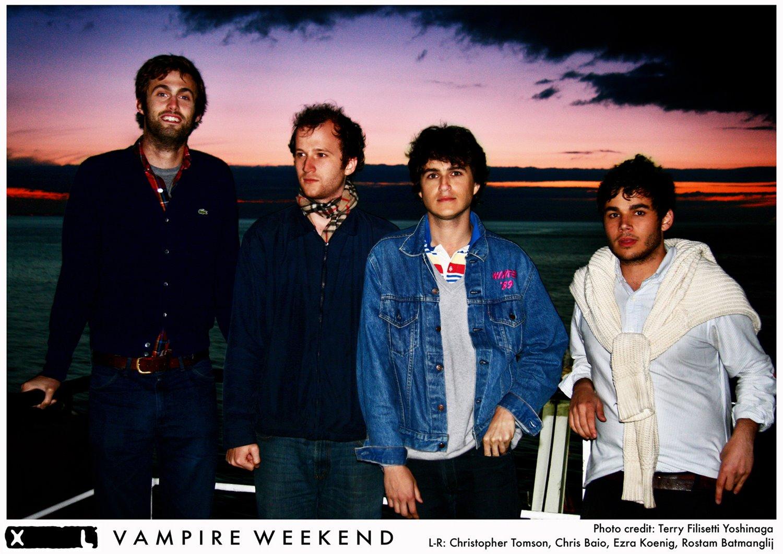 Vampire Weekend Band