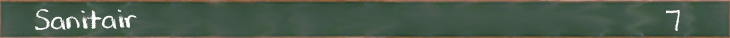 Sanitair: 7
