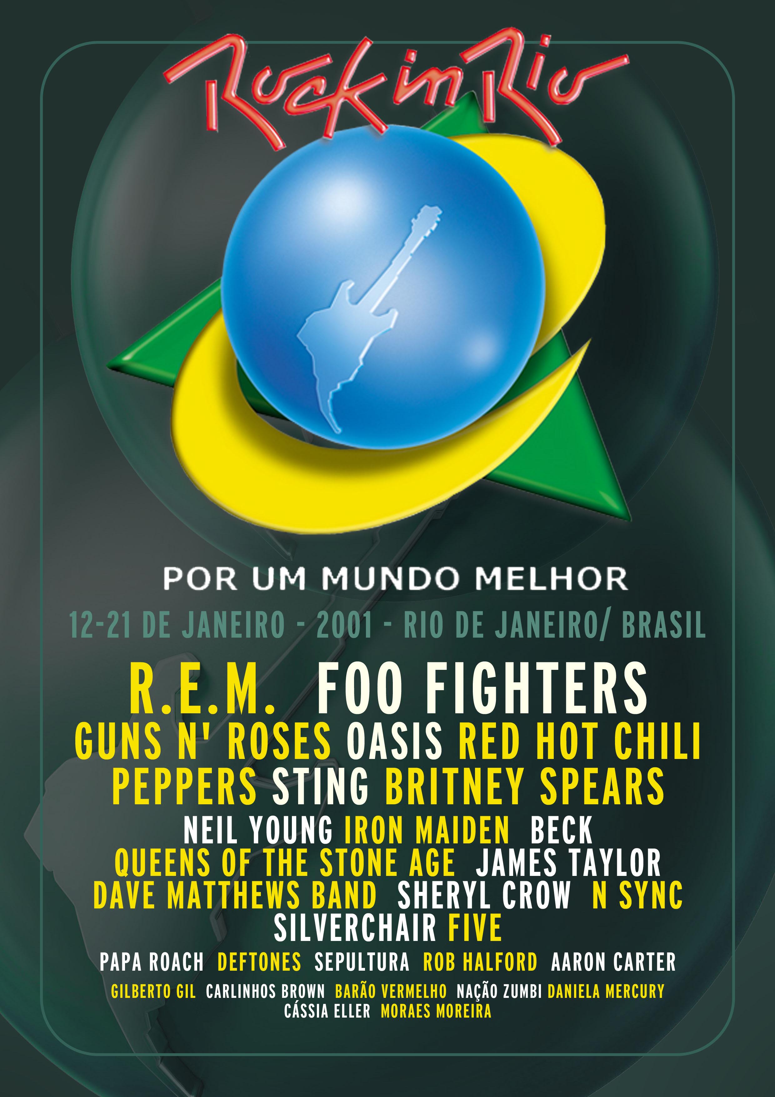 Rock In Rio 2001