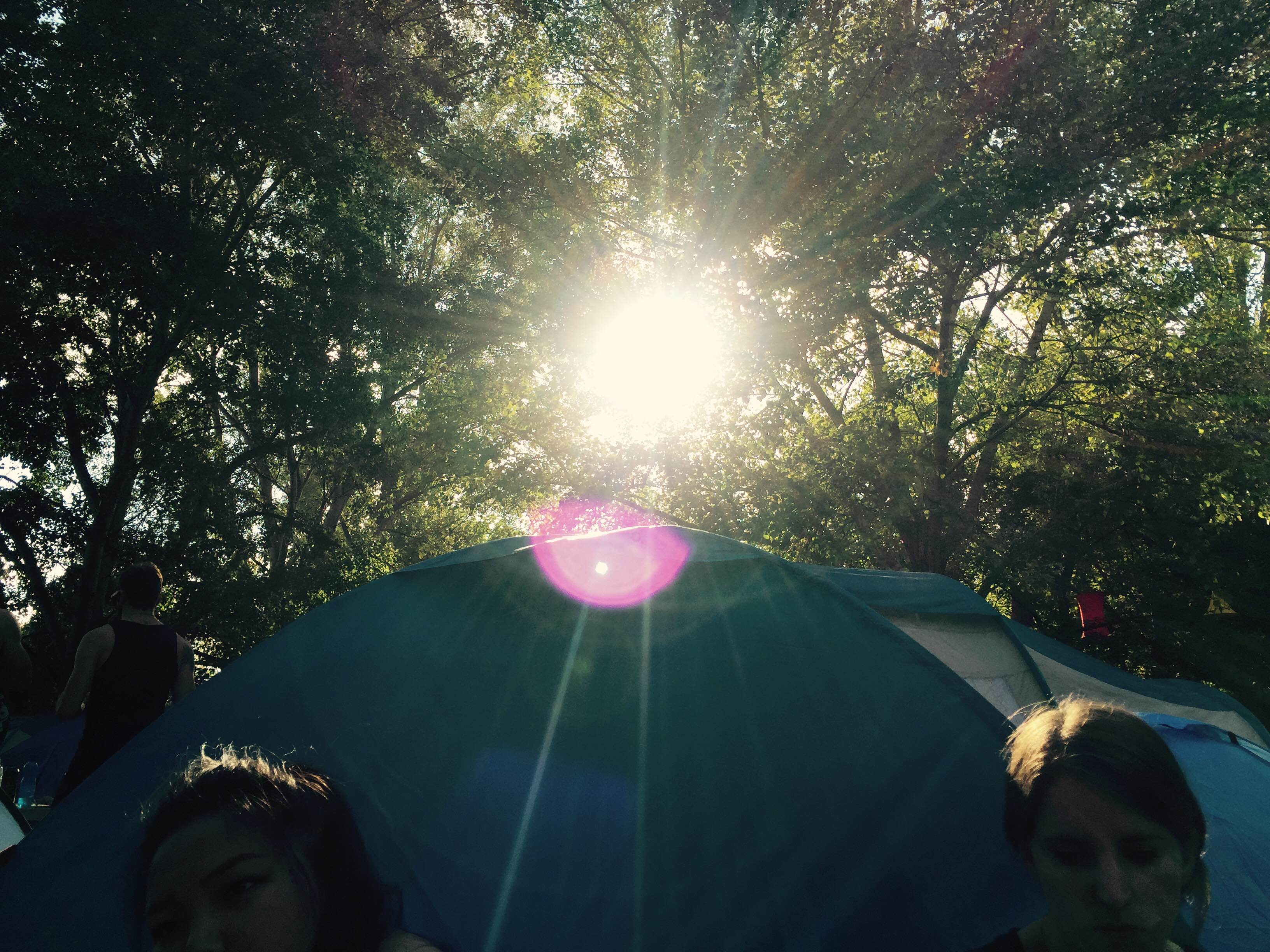 sziget camping