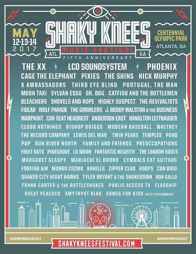 shaky-knees-music-festial-line-up-2017
