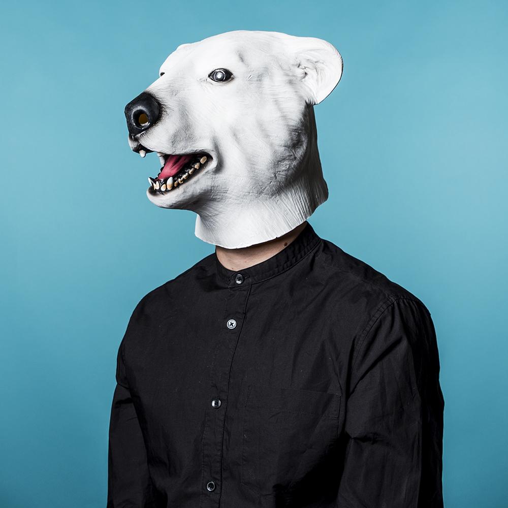 dierenmaskers ijsbeer