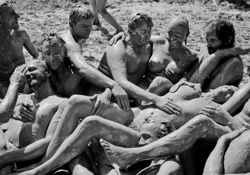 glastonbury 1992 mud