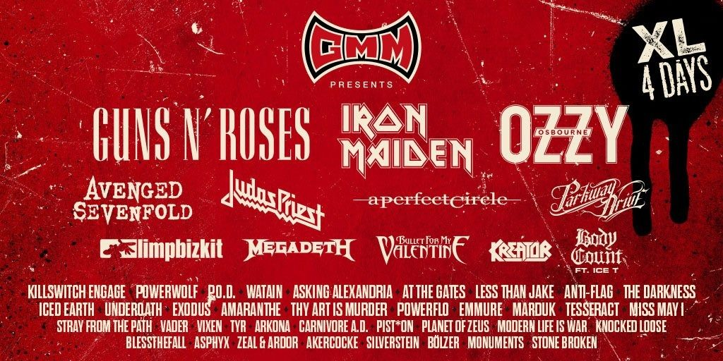 Graspop Metal Meeting 2018 Onthult Avenged Sevenfold En
