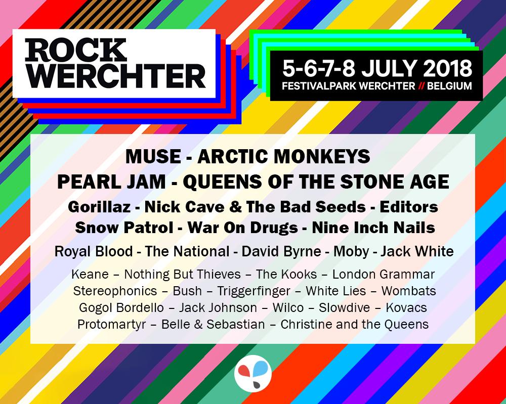 Poster Rock Werchter