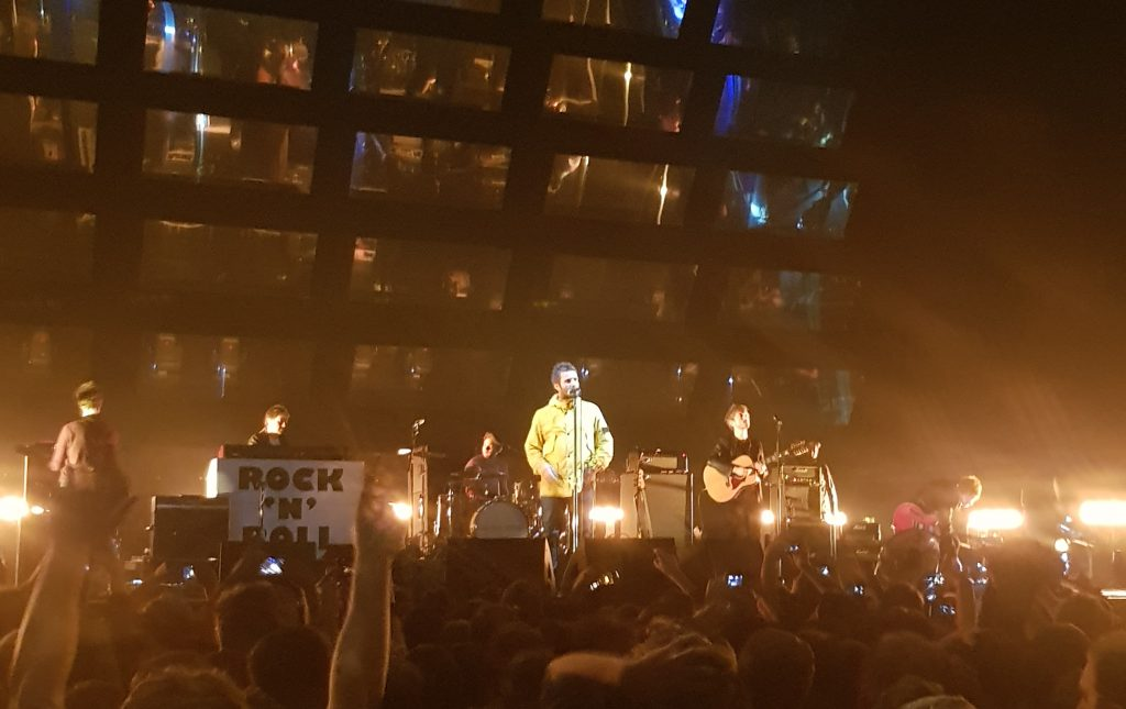 Liam Gallagher in AFAS Live