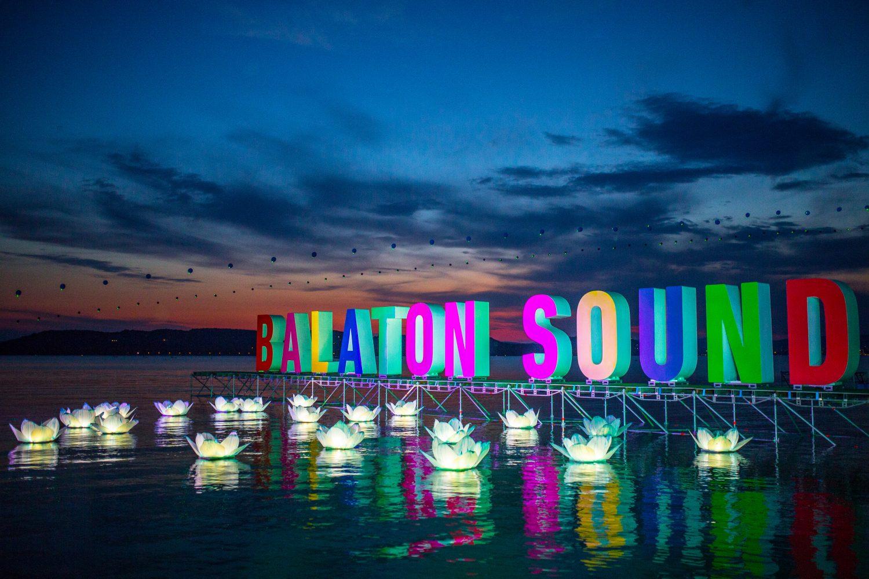 Balaton Sound nacht