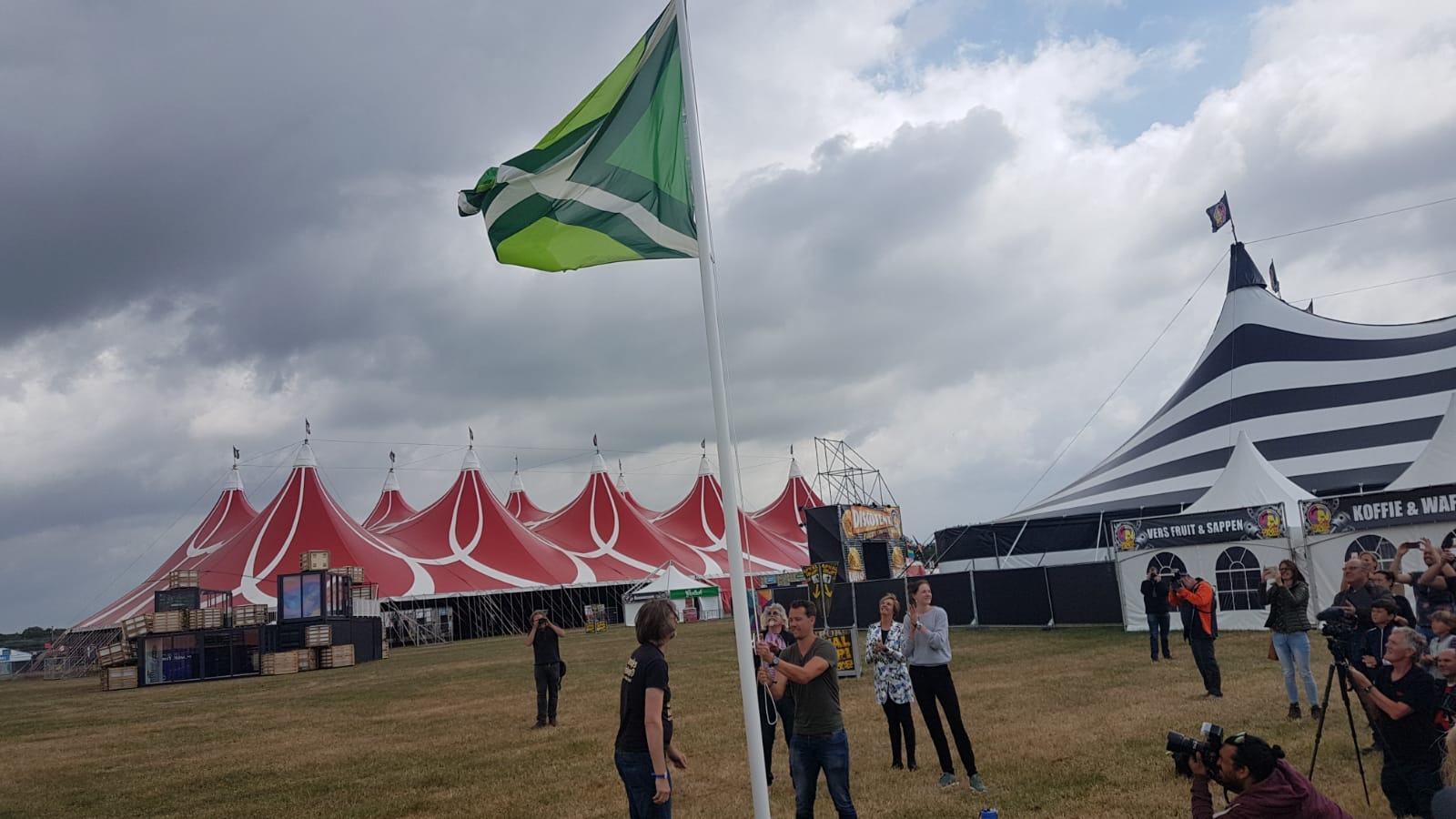 Zwarte Cross 2018 vlag