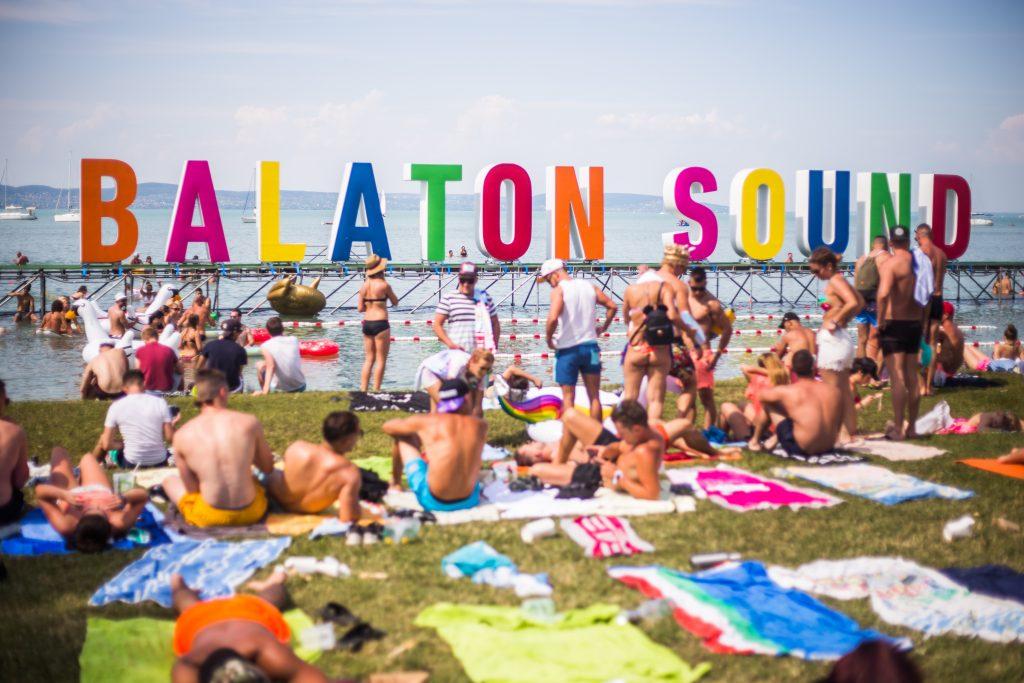 Balaton Sound Header