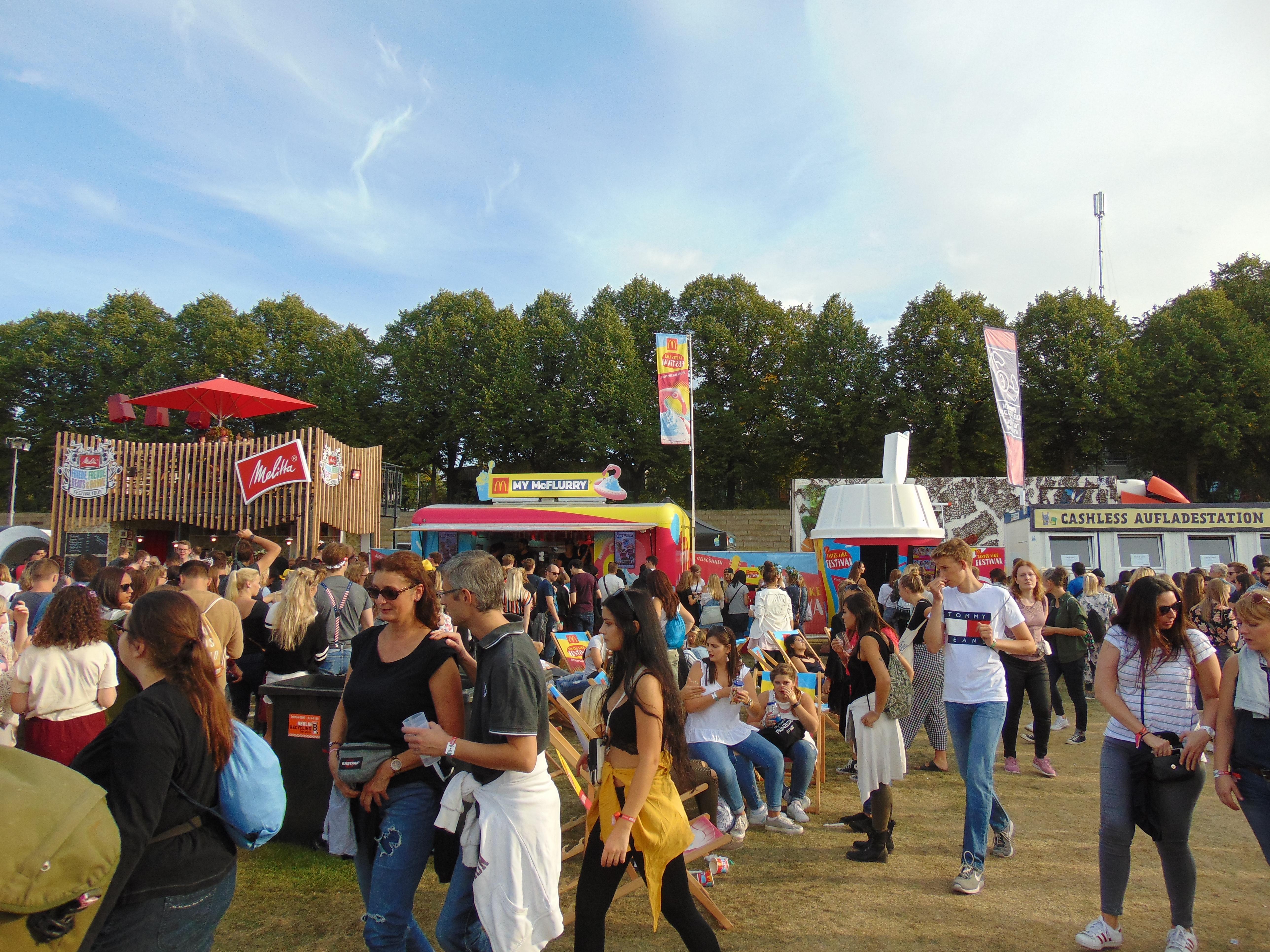 Lollapalooza Berlin 2018 Eten & Drinken