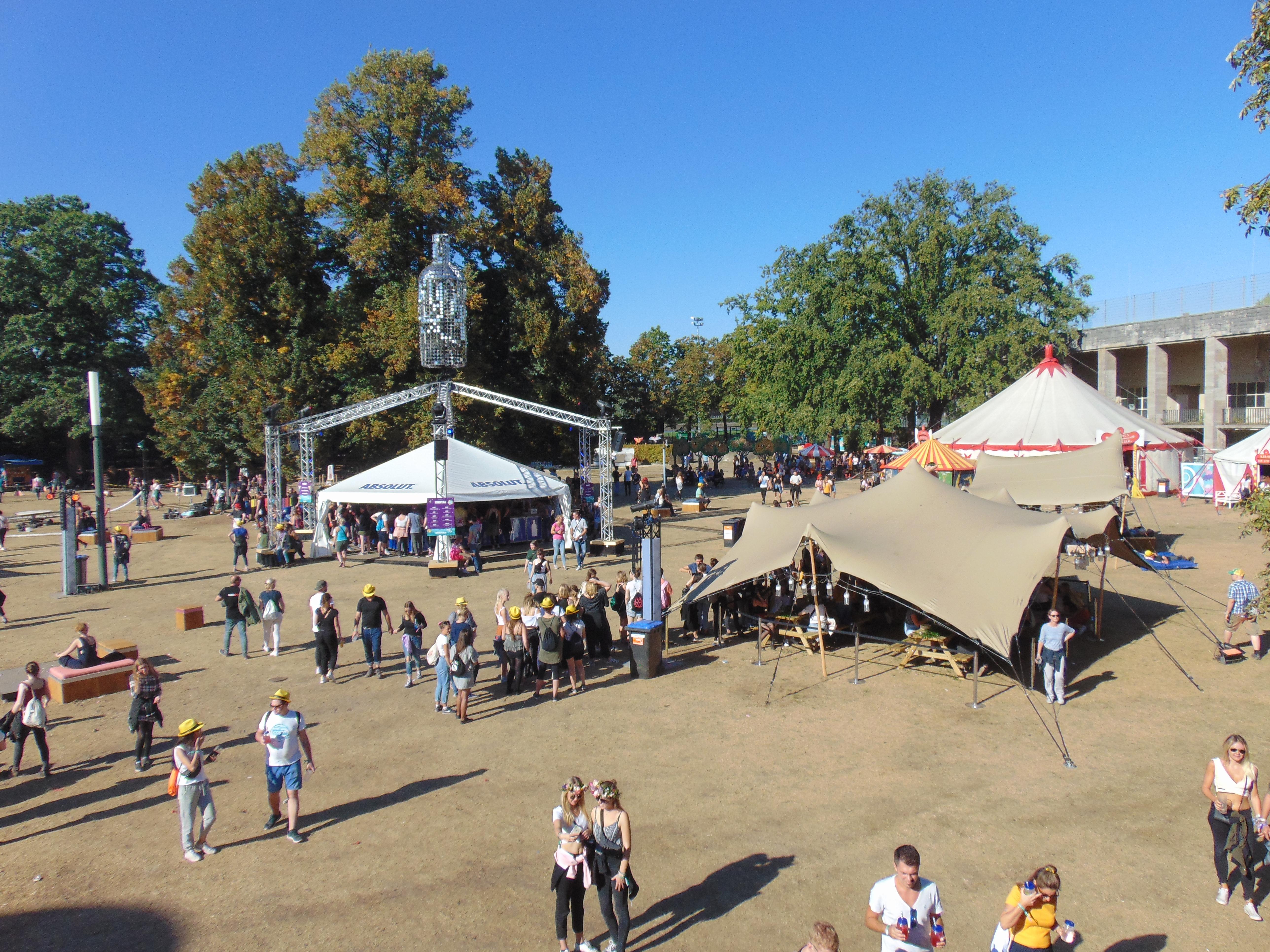 Lollapalooza Berlin 2018 Randprogrammering