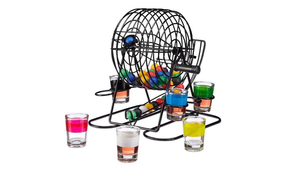 Drankspelletjes - Shot Bingo
