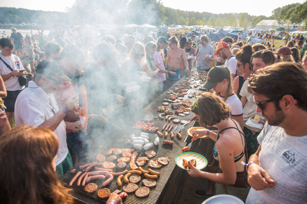 DTRH Camping BBQ, eten