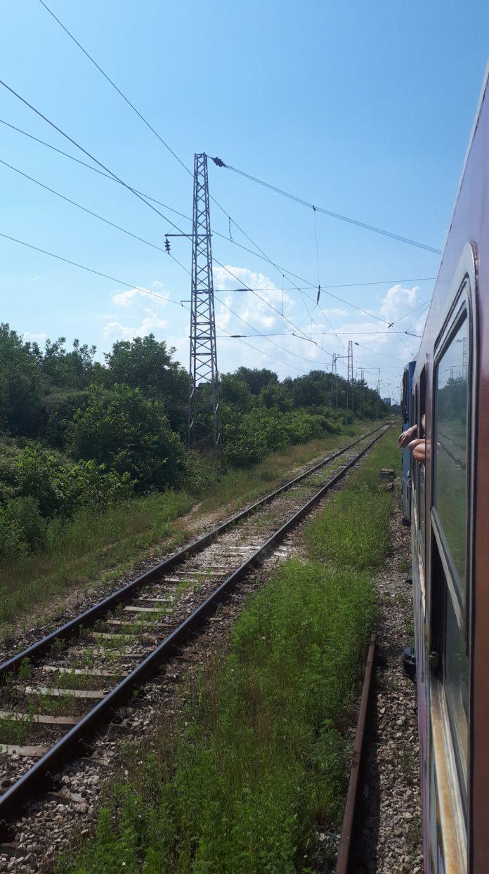 Interrail - trein