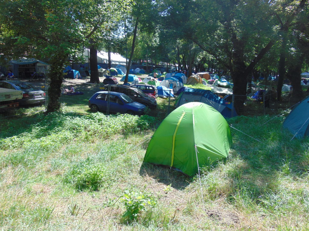 7 Unexpected places to pitch your tent at Sziget 2019