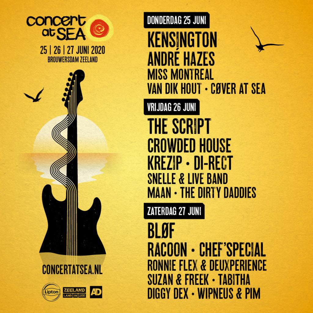 Concert at SEA 2020 poster