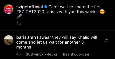 Sziget Khalid 2020