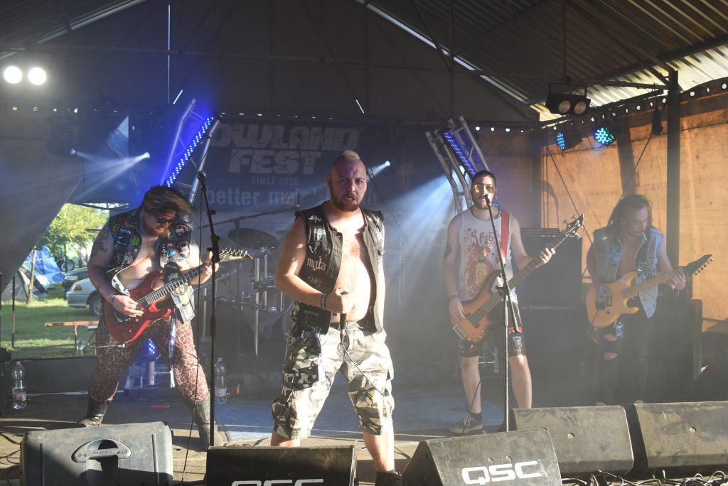 Türböwitch at Lowland Fest 2020 Hungarian underground metal festival