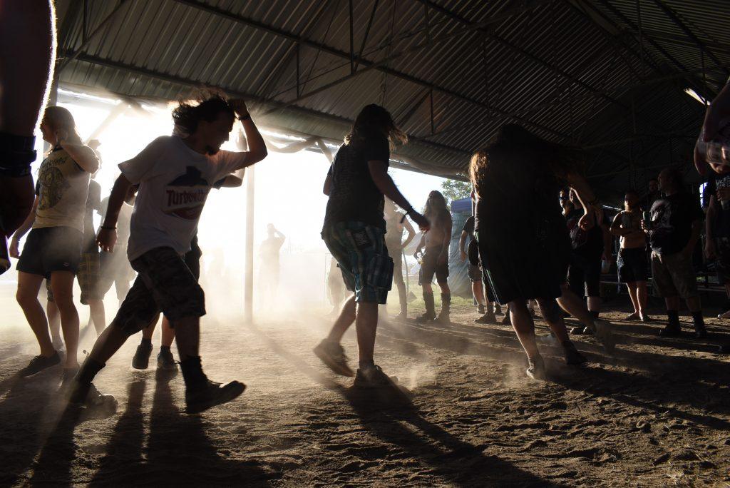 Lowland Fest 2020 pit