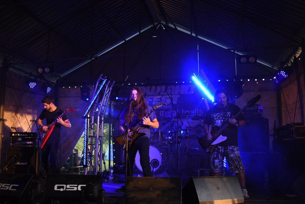 Atrox Trauma at Lowland Fest 2020 Hungarian underground metal festival
