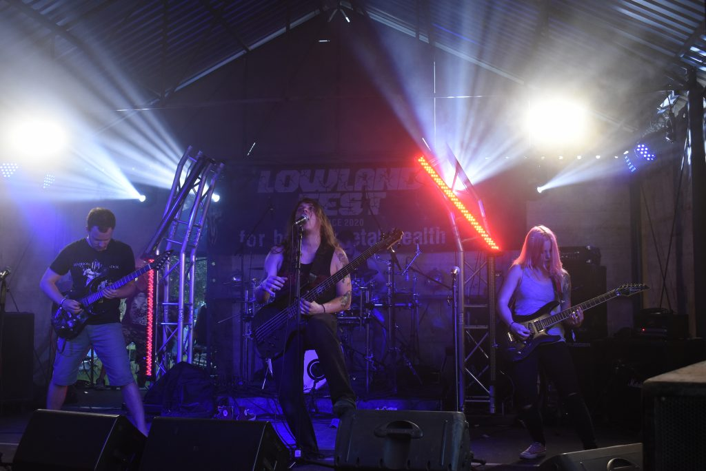Nest of Plagues at Lowland Fest 2020 Hungarian underground metal festival