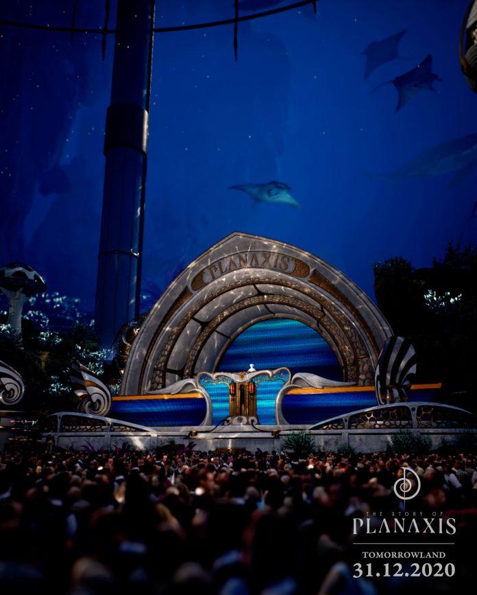 Stage Tomorrowland 31.12.2020