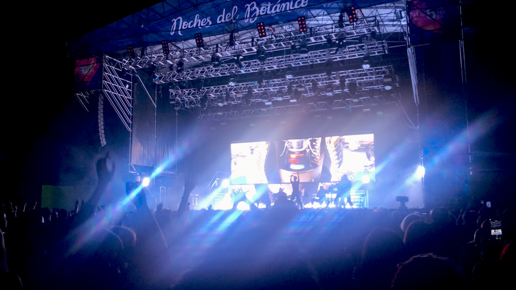 Woodkid at the Noches del Botánico