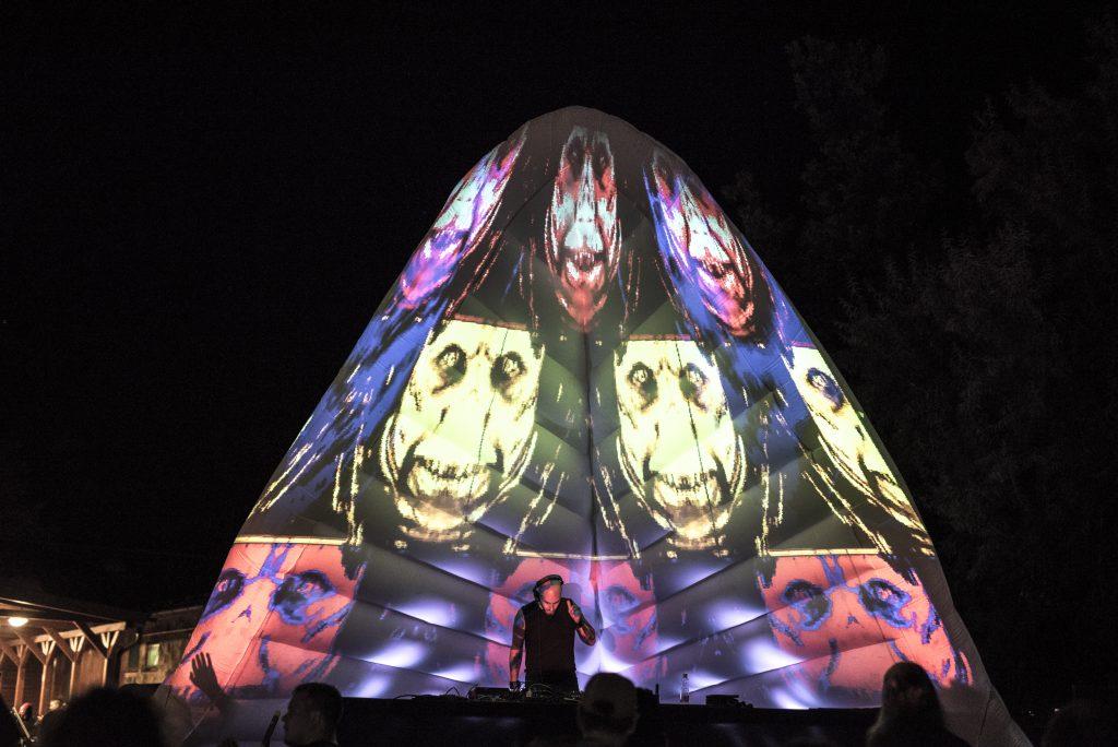 Delta Stage at Fekete Zaj 2020