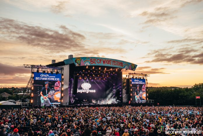 Supergrass at Isle of Wight Festival 2021